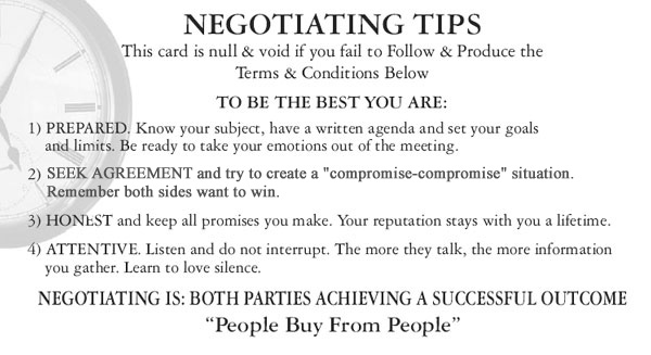 sources of power in negotiation pdf